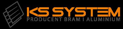 KS SYSTEM Producent Bram i aluminium logo