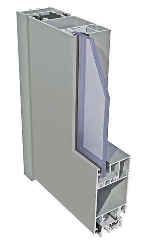 system okienno-drzwiowy ecoline