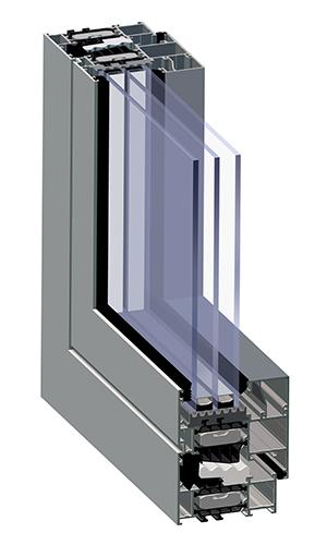 system okienno-drzwiowy genesis 75